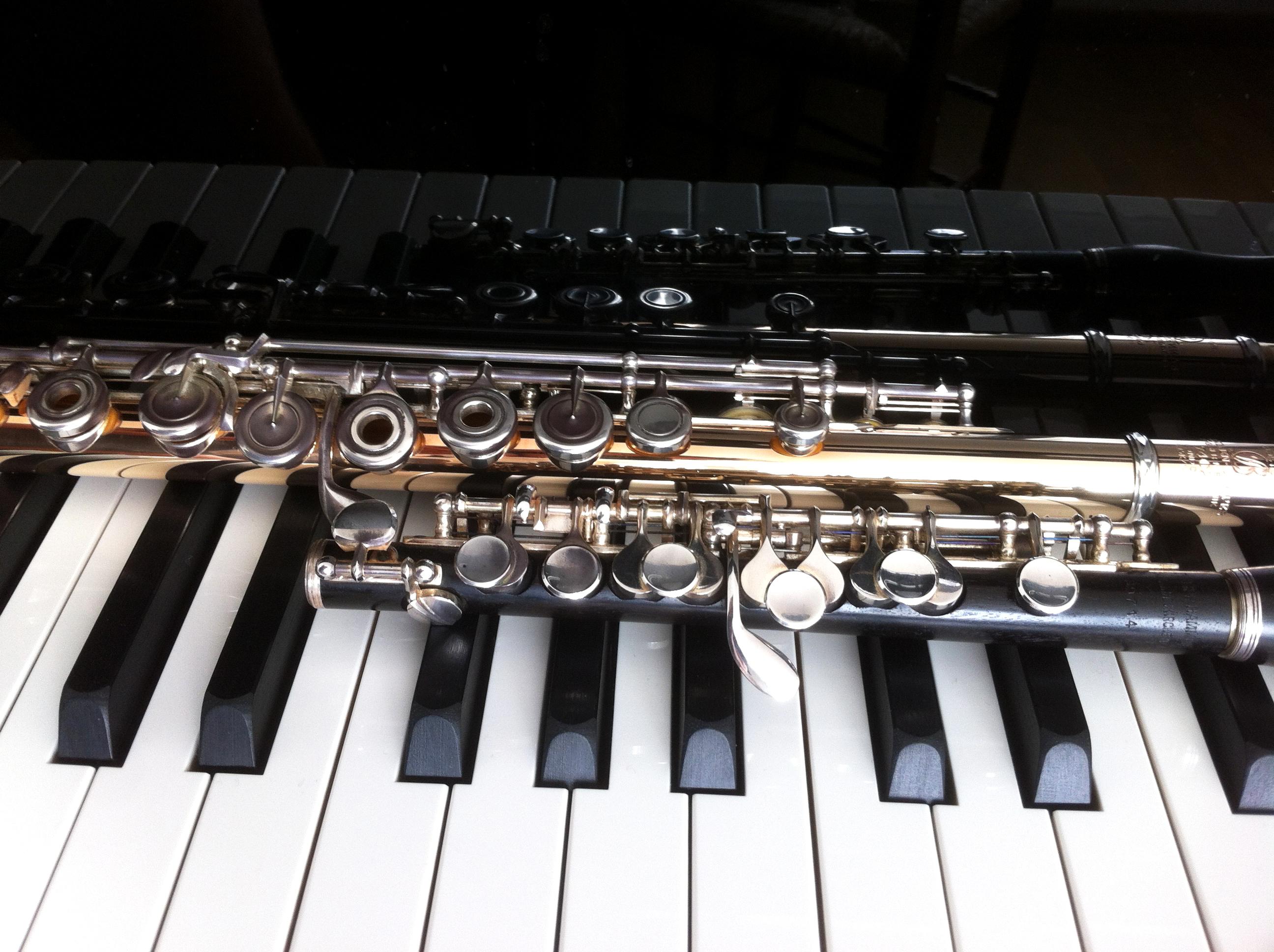 Flute et piano